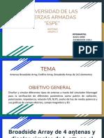 NRC4224_Grupo2_Arreglo de Antenas