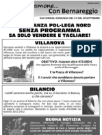 Parliamone Con Bernareggio Ottobre 2010