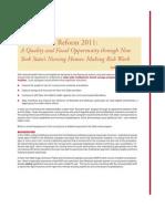 State Health Reform 2011
