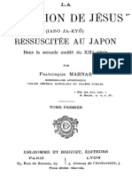 La Religion de Jesus Ressuscitee Au Japon Dans La Seconde Moitie Du XIXe Siecle (Tome 1) 000000495