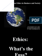 INTRODUCTION TO Ethics 1