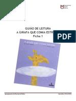 Guião Leitura_A Girafa Que Comia Estrelas-Ficha_1_2ºano