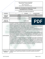 Estructura de control de calidad de alimentos (1) (2)