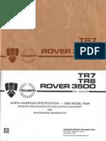 tr7-8fi manual