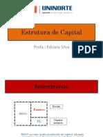 (Aula 03) Estrutura de Capital