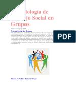 Metodología de Trabajo Social en Grupos