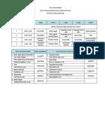 Jadwal Mapel XI BDP