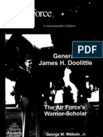General James H. Doolittle the Air Force's Warrior Scholar