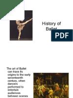 History of Ballet Advanced