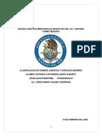 Clasificación de normas; Derecho y espacios marinos