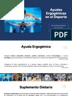 Ayudas Ergogénicas en El Deporte