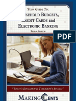 Household budgets, credit cards and electronic banking