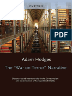 Literariness.org (Oxford Studies in Sociolinguistics) Adam Hodges-The ''War on Terror'' Narrative_ Discourse and Intertextuality in the Construction and Contestation of Sociopolitical Reality (Oxford Studies in Sociol
