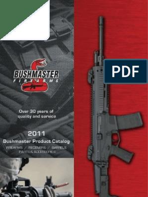 Bushmaster 2011 Catalog | Gun Barrel | Rifle