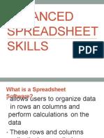 advancedspreadsheetskills