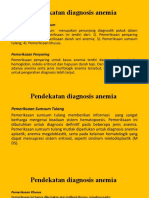 Pendekatan Diagnosis Anemia