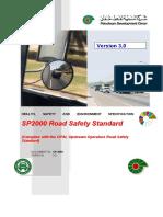 SP2000 Road Safety Standard