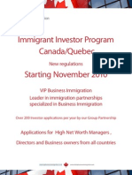 VIP Business Immigration Brochure EN 2011