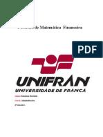 Portfólio de Matemática  Financeira