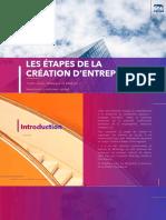 CHAPITRE II- LES ÉTAPES DE LA CRÉATION D'ENTREPRISE