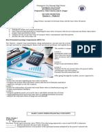 Business Finance Week  6 - 8