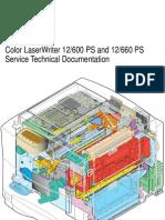Apple Color LaserWriter 12 600 PS Service Source