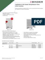 Data Sheet Model UF V 700 fr