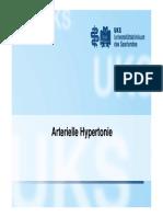 Vorlesung 5 Arterielle Hypertonie