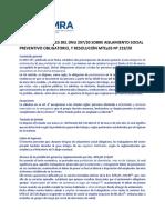 Adimra Covid-19 - Aspectos Laborales Del Dnu 297-20 y Res Mteyss 219-20 (1)