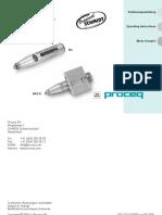Betonprüfhammer Concrete Test Hammer Scléromètre à béton N_NR - L_LR