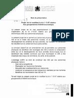 Loi_69.13 Modifiant Loi 13-97