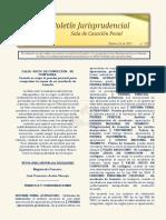 Boletin Jurisprudencial 2021-02-26