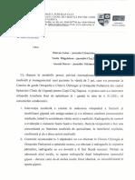 Răspuns Spitalul de Copii Cluj-Napoca