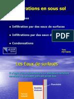 05. Pathologie Des Constructions - Cuvelage