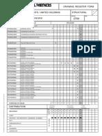 Drawing Register Form-1