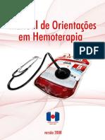 manual hemoterapia hemocentro