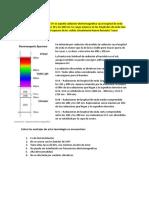 Radiación ultravioleta y rayos x