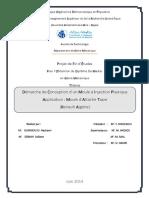 Démarche de Conception d Un Moule à Injection Plastique Application Moule d Attache Tapie (Renault Algérie)