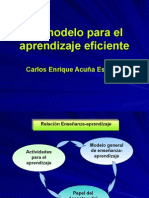 Un modelo para el aprendizaje eficiente