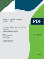 Bonos de Impacto Social en America Latina