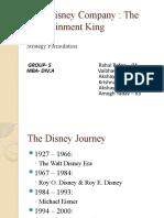 Walt Disney- Final