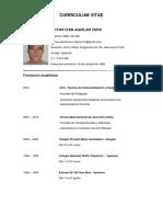 Curriculum vitae Ivan Aguilar 2.1