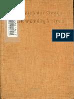 Friedrich Der Große - Denkwürdigkeiten