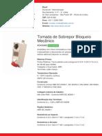 Tomada de Sobrepor Bloqueio Mecânico - S4506B