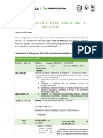 GUIA DIDACTICA EDUCACION A DISTANCIA - LENGUA CASTELLANA - PRODUCCION TEXTUAL -GRADO 10 Y 11 GIOVANNI POLIFRONI LOBO .docx (1) (1)