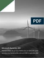 Dynamics365 2020 Release Wave 1 Plan