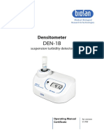 DEN 1 B Densitometer