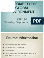 Intro to Global Environment