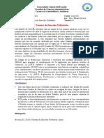 Fuentes de Derecho Tributario- Ecuador