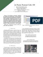 Informe Puente Calle 100